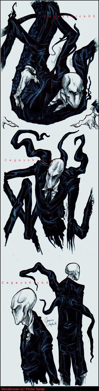 Slenderman doodles -9- by Cageyshick05