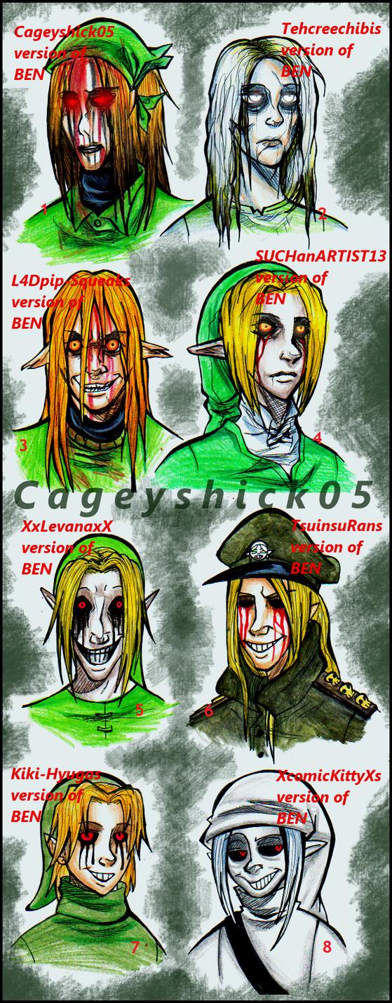 BEN BEN BEN BEN BEN BEN BEN and BEN by Cageyshick05