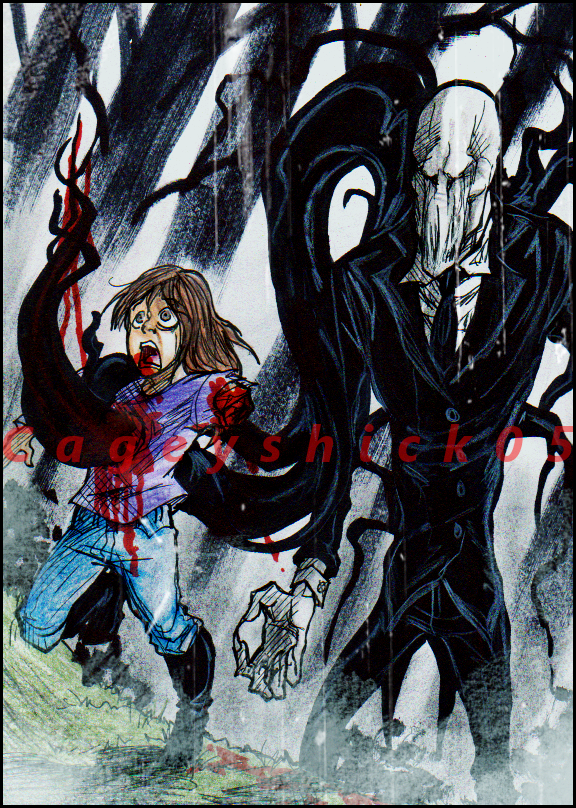 Request: Killed by Slenderman by Cageyshick05