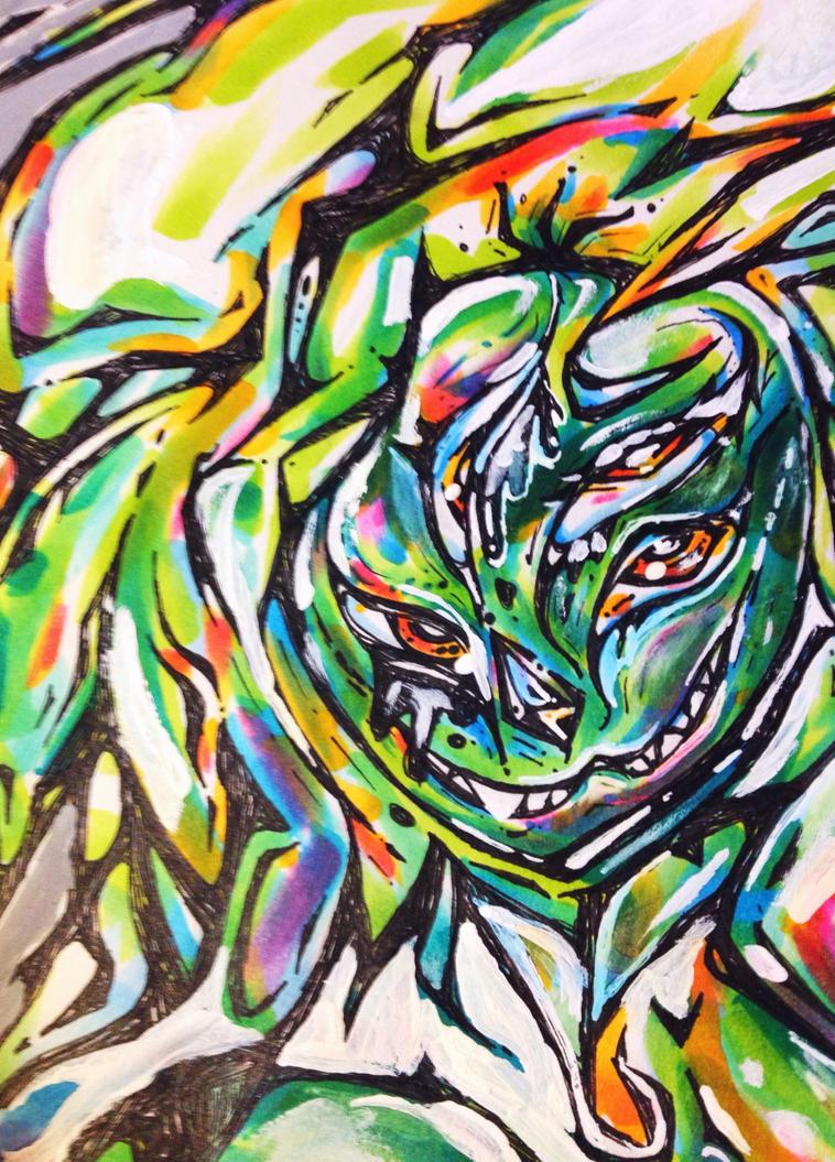 StevenUniverse Sea Monster by commodorefrog