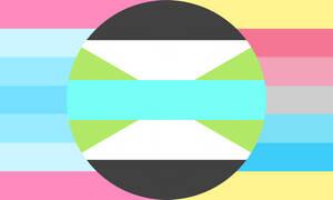 Trans man genderflux xoy combo flag (2)