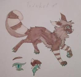 Trinket (MYO Pending) by Ash-Doggie