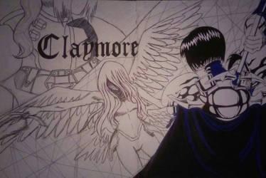 Claymore Art (Incomplete) by Marellano910x
