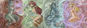 SHINE MAGICAL GIRLS by raptor007