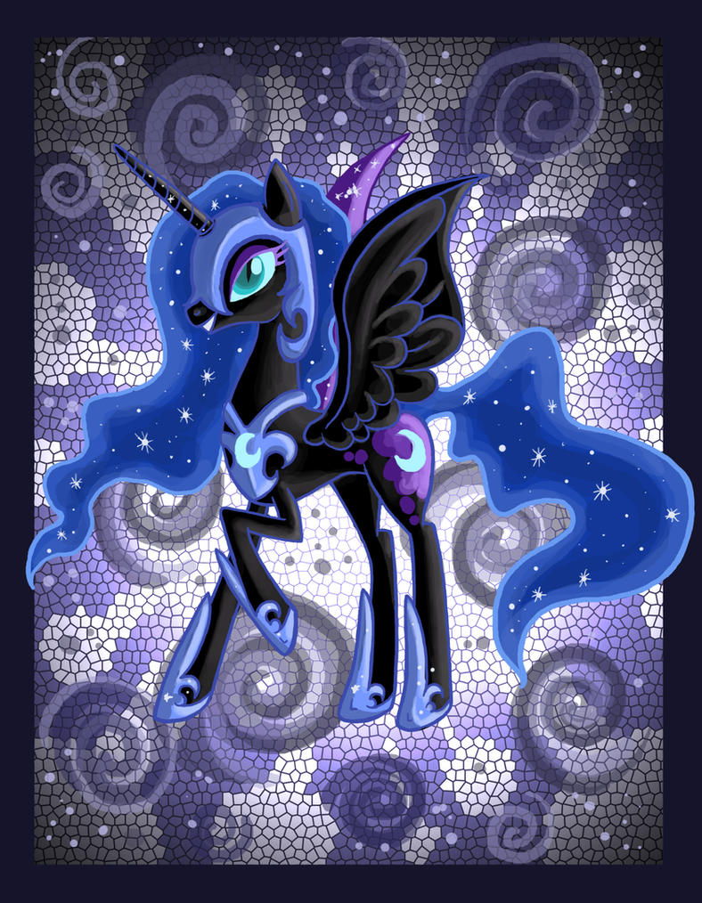 NightMare Moon by raptor007