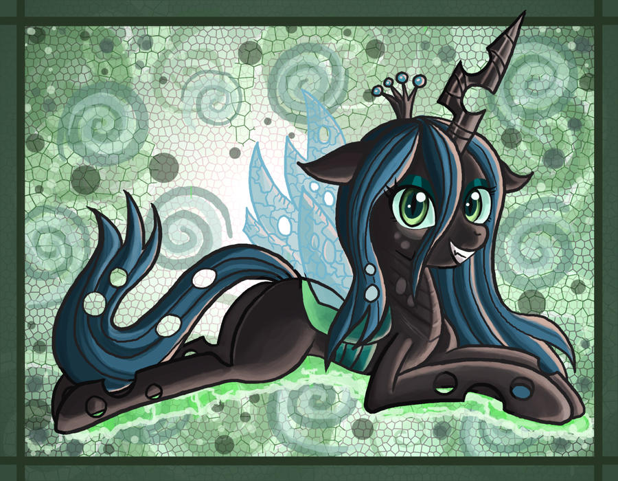 Queen Chrysalis by raptor007