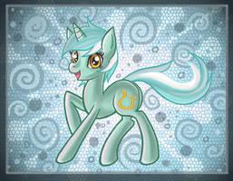 Lyra pony by raptor007