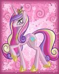Pink pony Princess Cadence