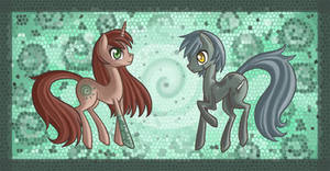 Kitsu and Kara Ponies