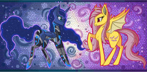 Cyber Luna x Flutterbat
