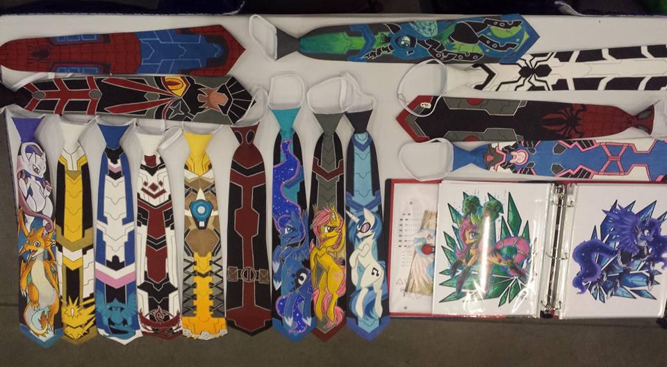 Table setup left side zipper ties by raptor007