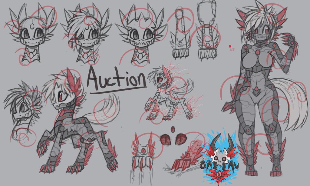 Hyper Claw demon oni inu by raptor007