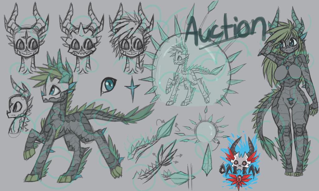 Oni Inu Dragon Bubble by raptor007