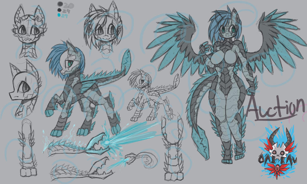 Scorp Tail demon dragon by raptor007