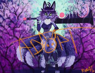 Velvet cherry fox ADOPT