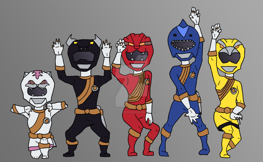 Day 25 Hyakujuu Sentai Gaoranger by Demon-of-the-Roses on DeviantArt