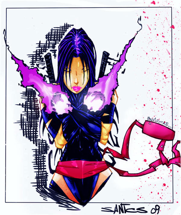 psylocke by CRISTIAN-SANTOS on DeviantArt