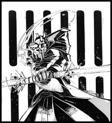 darth maul inks by CRISTIAN-SANTOS