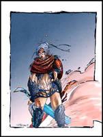 jess dragon age origins comish by CRISTIAN-SANTOS