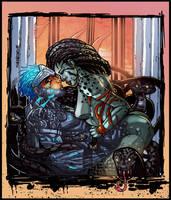 medusa's retribution by CRISTIAN-SANTOS