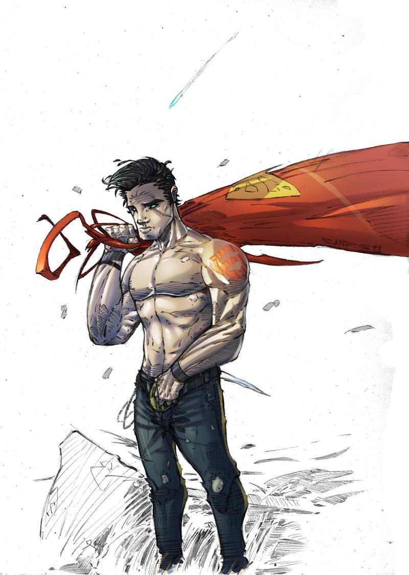 the boy of steel