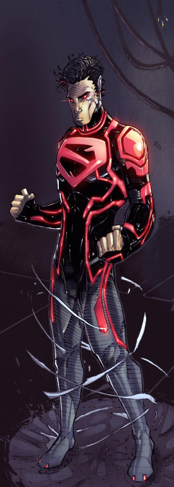 superboy new52 by CRISTIAN-SANTOS on DeviantArt
