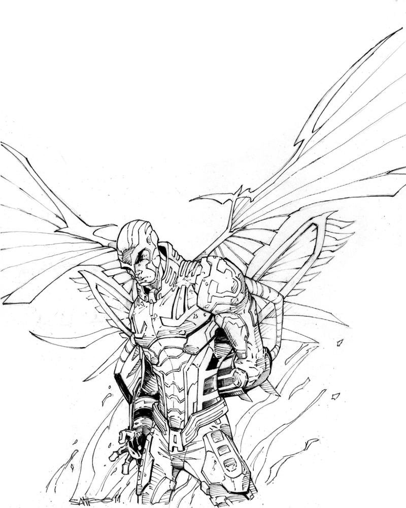 apocalypse archangel inks by CRISTIAN-SANTOS on DeviantArt