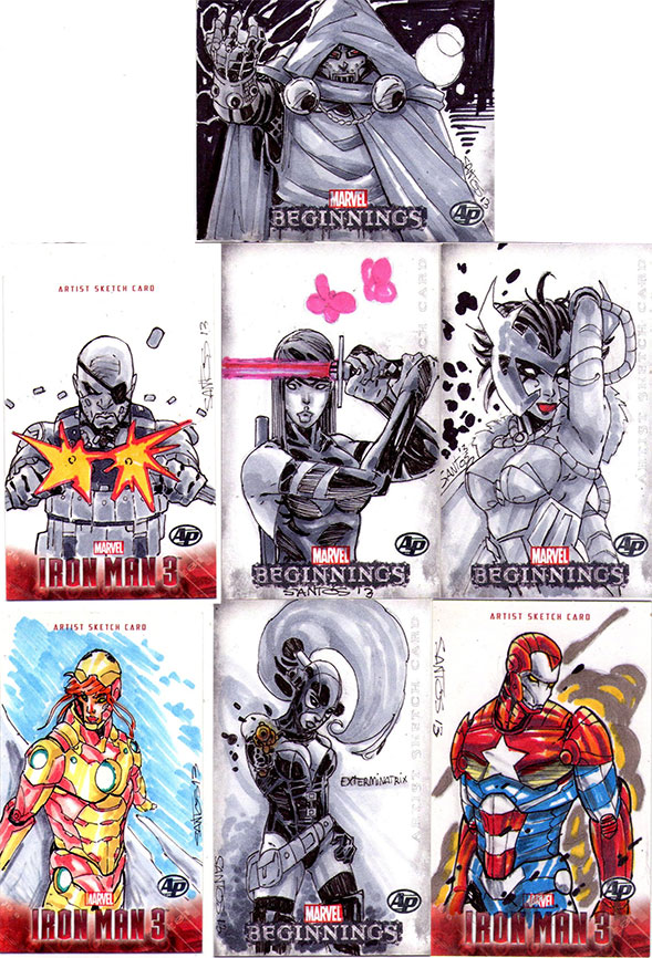 Sketch card Ap's by CRISTIAN-SANTOS