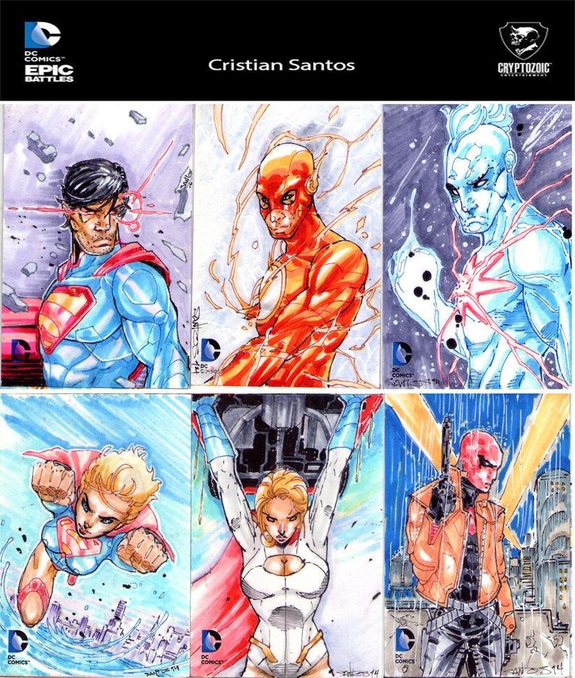 Epic-battles-ap's by CRISTIAN-SANTOS