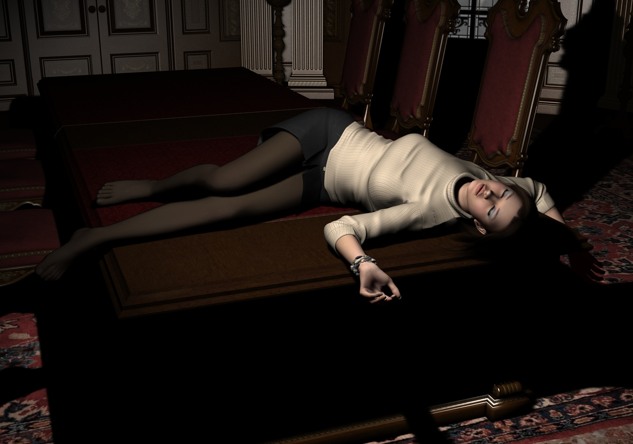 Amanda - KO'd on the table 1 by Torqual3D