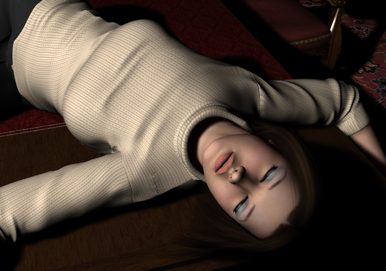 Amanda - KO'd on the table 2 by Torqual3D