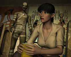 Ciara's Egyptian Nightmare 7 by Torqual3D