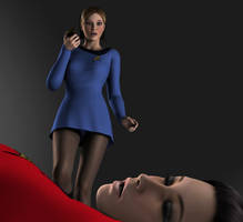 Star Trek TOS Girls in Peril 1 by Torqual3D