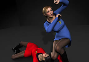 Star Trek TOS Girls in Peril 3 by Torqual3D
