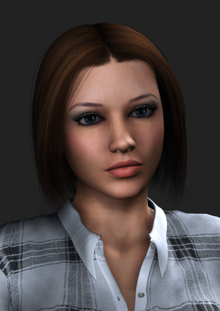 Amanda Jones - Portrait by Torqual3D