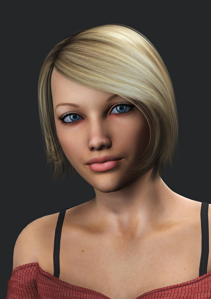 Rachel Fox - Portrait by Torqual3D