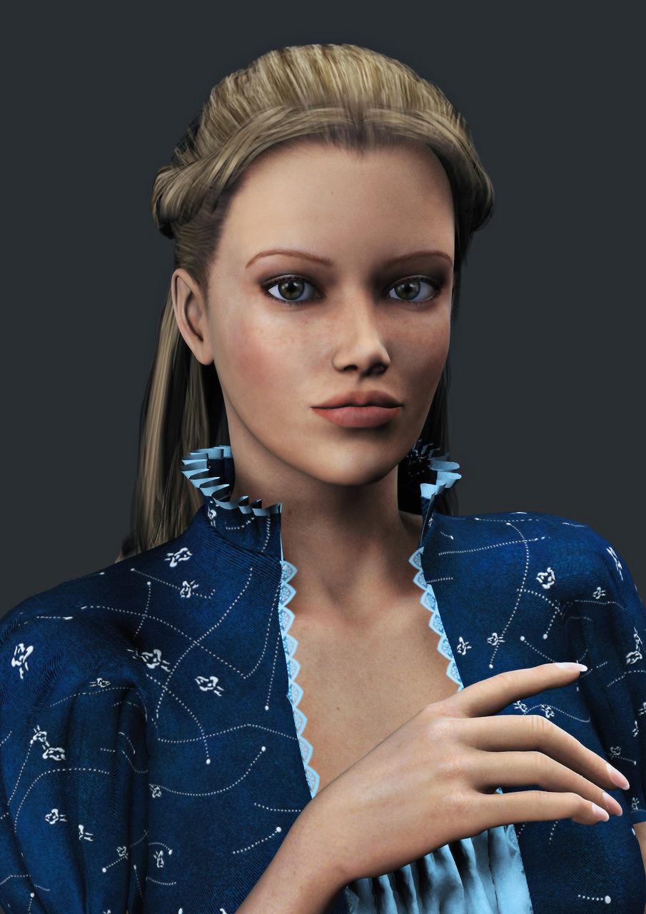 Princess Collette - Portrait by Torqual3D