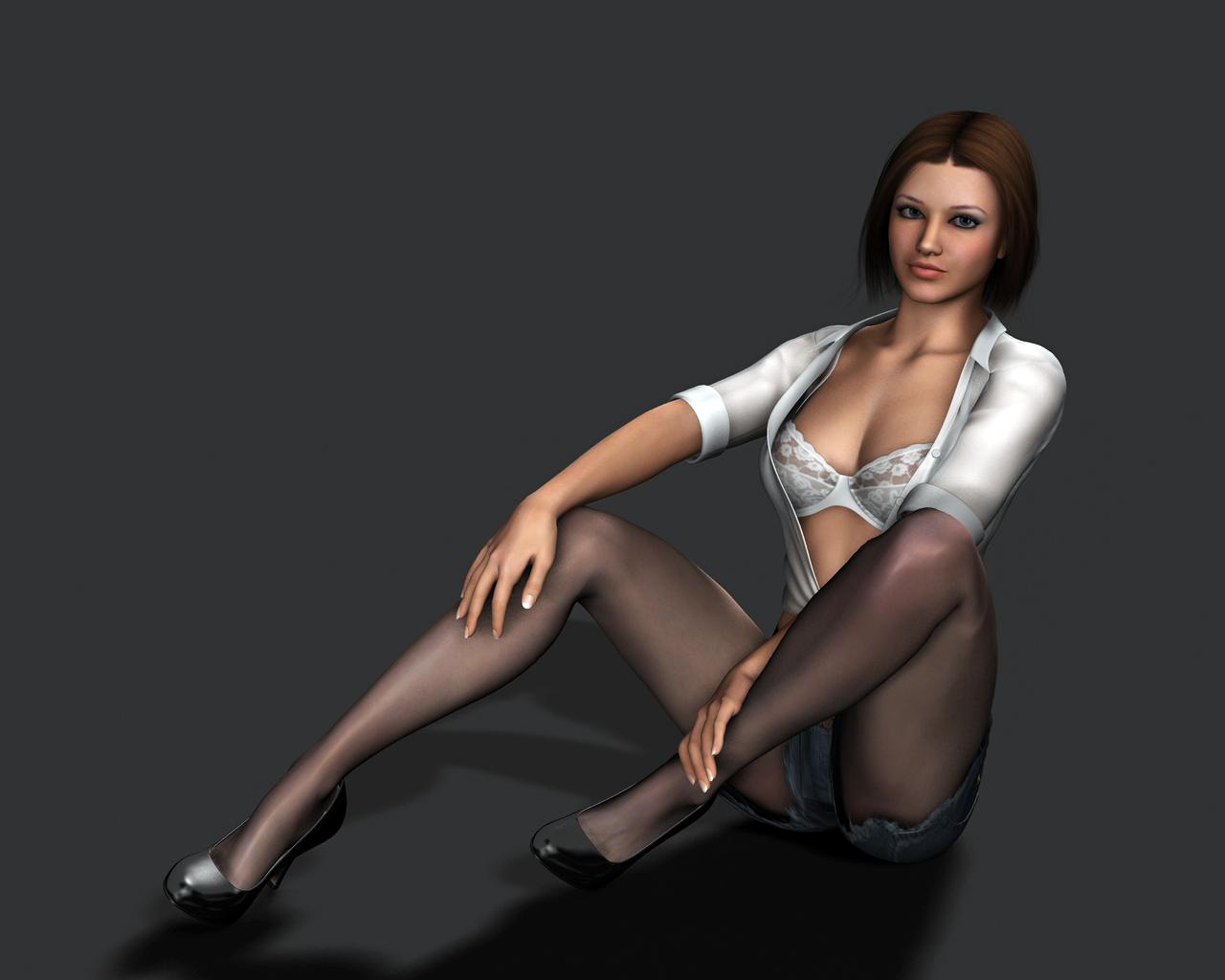 3d amanda hot girl exposed picture