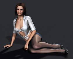 Amanda Jones Pinup 2 by Torqual3D