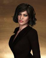 Nicole Greene - Portrait by Torqual3D