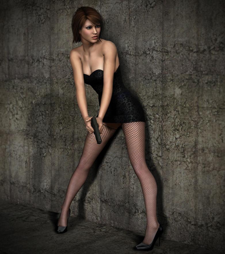 La Femme Amanda by Torqual3D