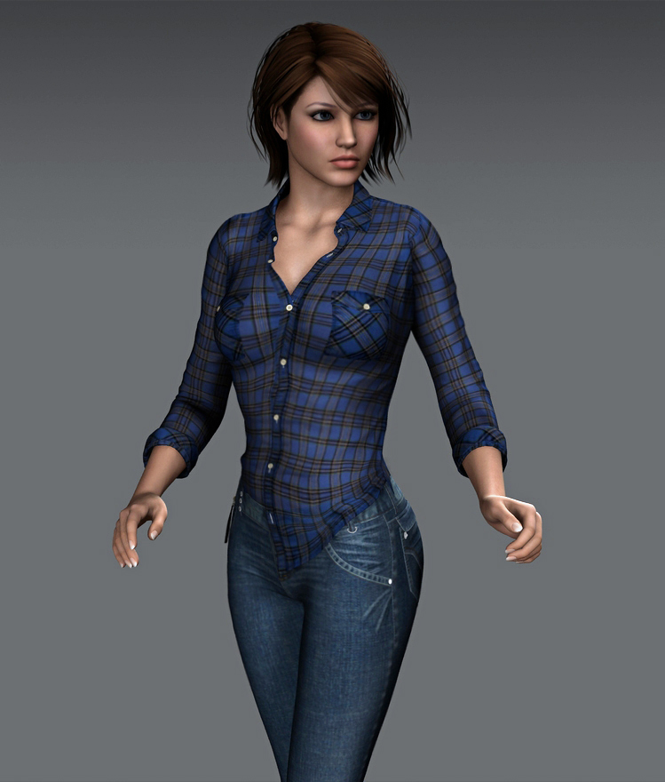 Adult Amanda - On The Case by Torqual3D