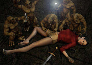 Ciara - Captured by Troglodytes (1MPV) by Torqual3D