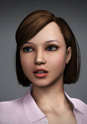 Young Amanda Portrait by Torqual3D