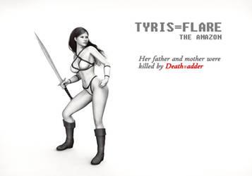 Golden Axe - Tyris Flare (1080p)