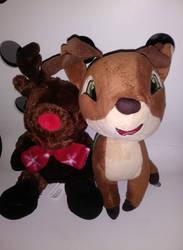 Rudolph and Vixen