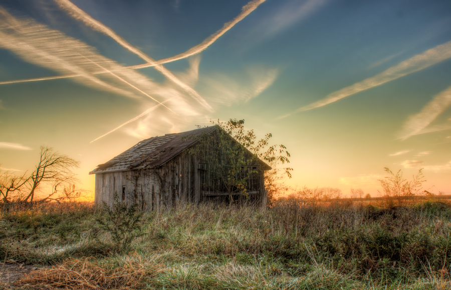 The Abandoned Barn by ZachSpradlin