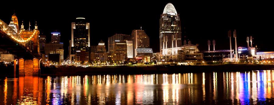 Cincinnati Riverfront by ZachSpradlin