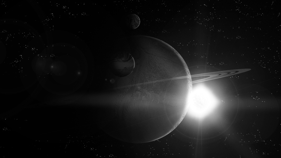 Unknown Planetary System 01 by ElaboratePlanet