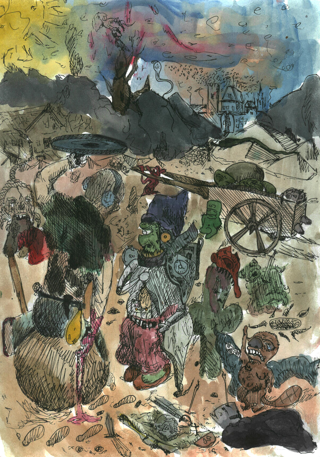 Goblin Market by MrMrsMouse